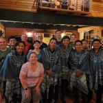group photo of the team in Ecuador