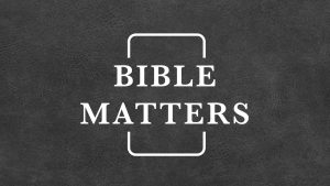 Bible Matters Logo